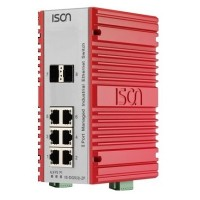 سوئیچ صنعتی آیسون ISON IS-DG508-2F Managed Ethernet Switch