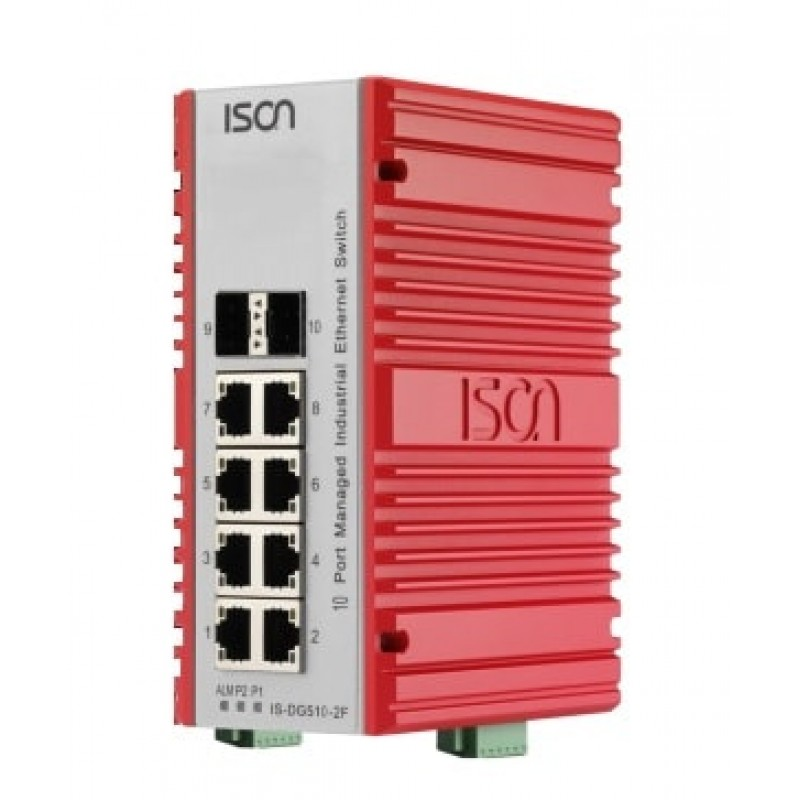 سوئیچ صنعتی آیسون ISON IS-DG510-2F Managed Ethernet Switch