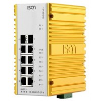 سوئیچ صنعتی آیسون ISON IS-DG510P-2F-8 Managed Ethernet Switch